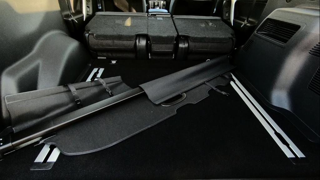 Toyota Land Cruiser Prado багажник