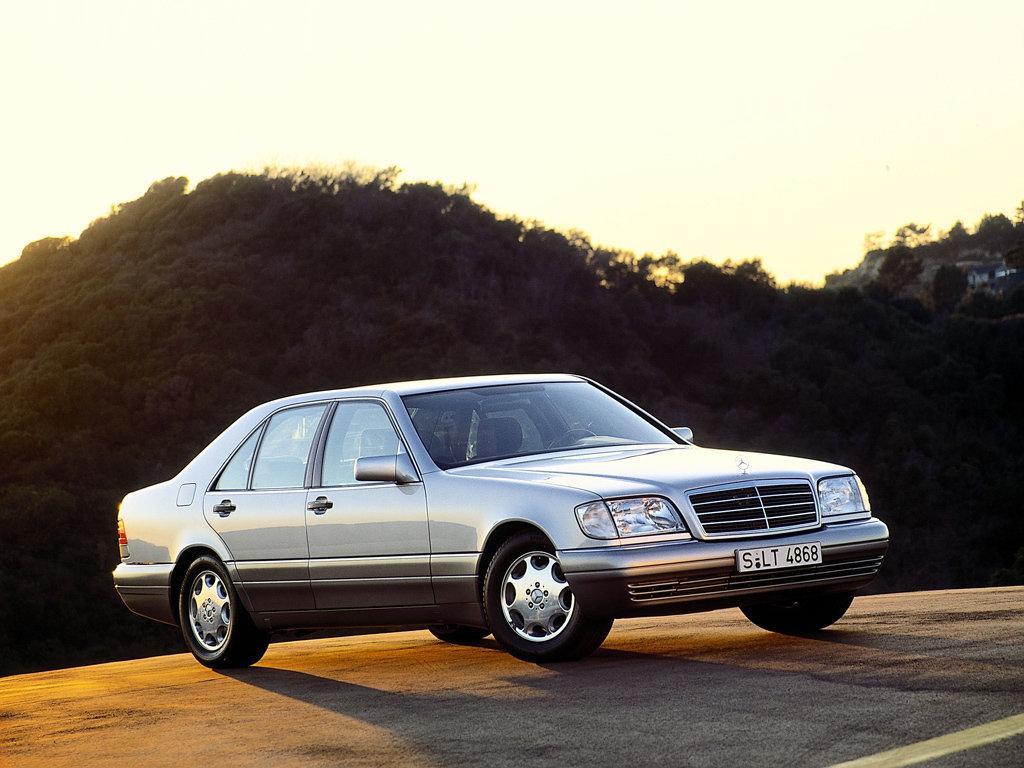 Mercedes - Benz S класса W 140 Кабан