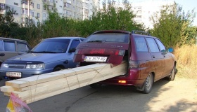 Можно перевозить груз в незакрытом багажнике и за что накажут?