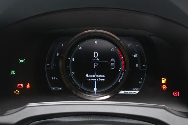 Панель приборов  Lexus RC 200t